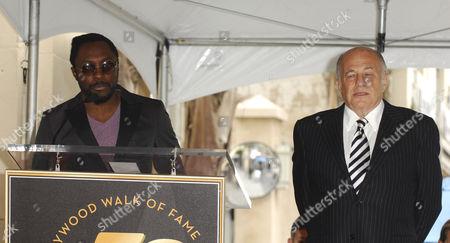 Doug Morris and Mary J. Blige