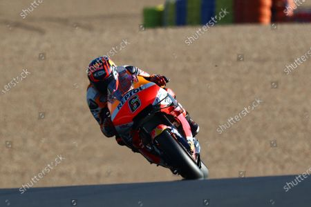 LE MANS CIRCUIT BUGATTI, FRANCE - OCTOBER 10: Stefan Bradl, Repsol Honda Team during the French GP at Le Mans Circuit Bugatti on October 10, 2020 in Le Mans Circuit Bugatti, France. (Photo by Gold and Goose / LAT Images)