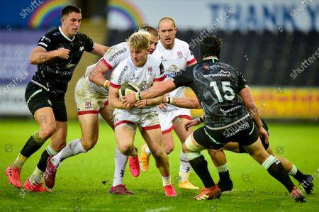 Editorial photo of Guinness PRO14, Liberty Stadium, Swansea, Wales, UK - 10 Oct 2020