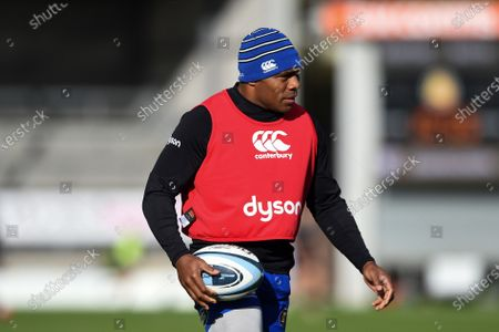 Stock Picture of Semesa Rokoduguni of Bath Rugby looks on during the pre-match warm-up
