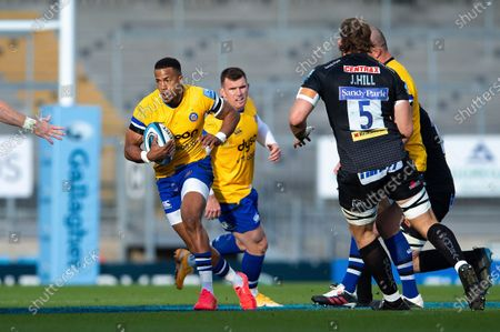 Anthony Watson of Bath Rugby in possession