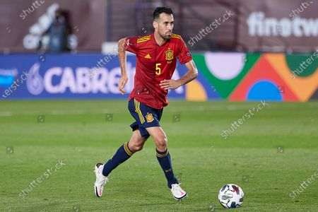 Sergio Busquets of Spain