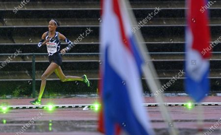 Editorial photo of Hassan improves European record at 10,000 meters, Hengelo, Netherlands - 10 Oct 2020