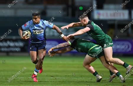 Editorial image of Cardiff Blues v Connacht - Guinness PRO14 - 10 Oct 2020