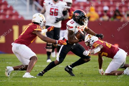 Editorial photo of Texas Tech Iowa St Football, Ames, United States - 10 Oct 2020