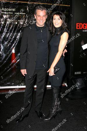 Danny Huston and Lynn Renee