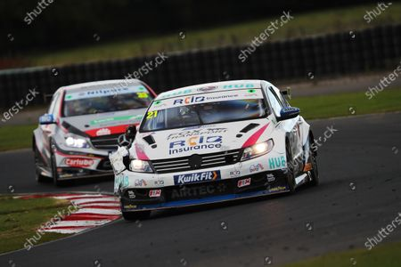 CROFT CIRCUIT, UNITED KINGDOM - OCTOBER 10: Mike Bushell (GBR) - Team HARD Volkswagen CC during the Croft at Croft Circuit on October 10, 2020 in Croft Circuit, United Kingdom. (Photo by JEP / LAT Images)