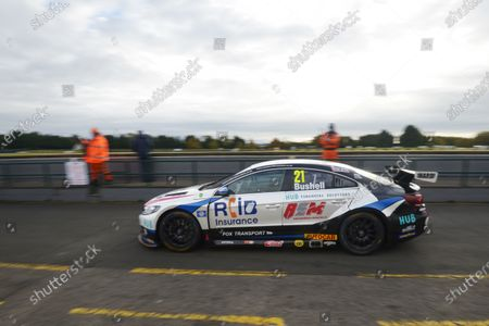 CROFT CIRCUIT, UNITED KINGDOM - OCTOBER 10: Mike Bushell (GBR) - Team HARD Volkswagen CC during the Croft at Croft Circuit on October 10, 2020 in Croft Circuit, United Kingdom. (Photo by LAT Images)