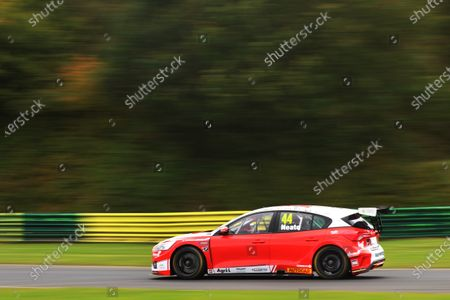 CROFT CIRCUIT, UNITED KINGDOM - OCTOBER 10: Andy Neate (GBR) - Motorbase Performance Ford Focus during the Croft at Croft Circuit on October 10, 2020 in Croft Circuit, United Kingdom. (Photo by JEP / LAT Images)