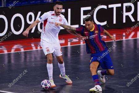 Raul Gomez; Palau Blaugrana, Barcelona, Catalonia, Spain; UEFA Futsal Champions League Finals; FC Barcelona versus MFK KPRF.