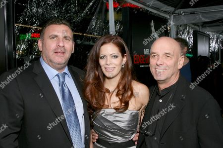 Stock Image of Graham King, Sol E. Romero and Martin Campbell
