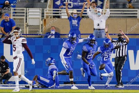 Editorial image of Mississippi St Kentucky Football, Lexington, United States - 10 Oct 2020