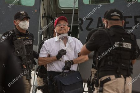 Editorial picture of Colombian ex-guerrilla arrives in Guatemala, Guatemala City - 11 Oct 2020