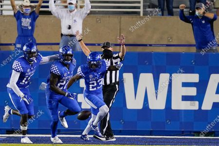Editorial photo of Mississippi St Kentucky Football, Lexington, United States - 10 Oct 2020