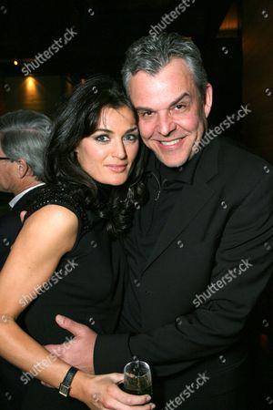 Lynn Renee and Danny Huston