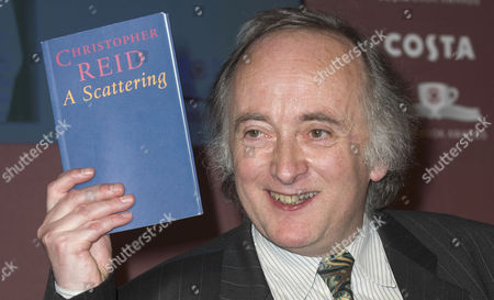 Christopher Reid, winner of the Costa Book of the Year with his book of poetry, 'The Scattering'