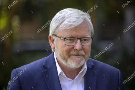 Editorial picture of Former Australian prime minister Kevin Rudd calls for  royal commission into Rupert Murdoch's media empire, Brisbane, Australia - 11 Oct 2020