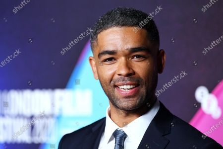 Stock Photo of Kingsley Ben-Adir attending a screening of One Night in Miami as part of the BFI London Film Festival, BFI Southbank, London.