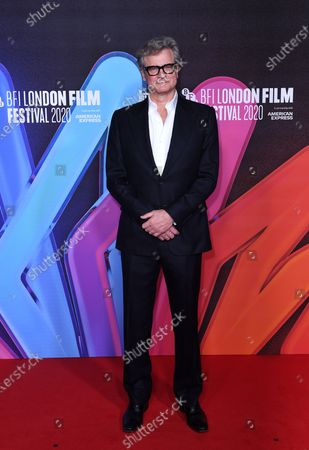 Editorial photo of 'Supernova' screening, BFI London Film Festival, UK - 11 Oct 2020