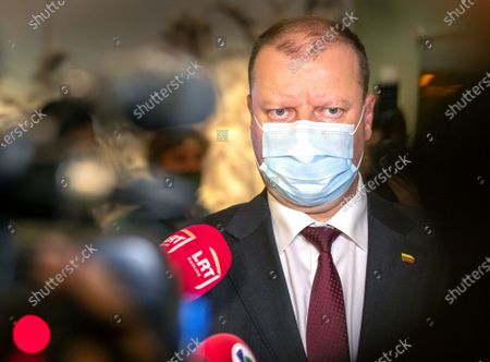 Editorial photo of Election, Vilnius, Lithuania - 11 Oct 2020