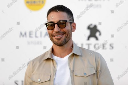 Miguel Angel Silvestre poses during the presentation of the HBO series '30 Monedas' at the 53rd Sitges International Fantastic Film Festival of Catalonia, in Sitges, Spain, 11 October 2020. The festival runs from 08 October to 18 October 2020.