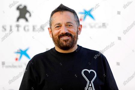 Pepon Nieto poses during the presentation of the HBO series '30 Monedas' at the 53rd Sitges International Fantastic Film Festival of Catalonia, in Sitges, Spain, 11 October 2020. The festival runs from 08 October to 18 October 2020.