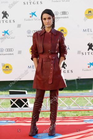 Megan Montaner poses during the presentation of the HBO series '30 Monedas' at the 53rd Sitges International Fantastic Film Festival of Catalonia, in Sitges, Spain, 11 October 2020. The festival runs from 08 October to 18 October 2020.