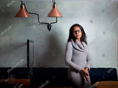 Editorial picture of Audrey Pulvar photocall, Paris, France - 07 Oct 2020