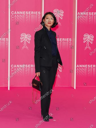 Editorial photo of The Pink Carpet, 3rd Canneseries, Paris, France - 10 Oct 2020