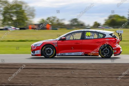 Andy Neate - Motorbase Performance - Ford Focus RS during the KWIK FIT BRITISH TOURING CAR CHAMPIONSHIP at Croft Circuit, Dalton On Tees