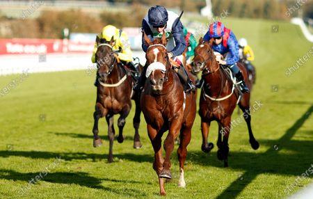 JUAN DE MONTALBAN (Oisin Murphy) wins The Download The tote Placepot App EBF Novice Stakes Goodwood