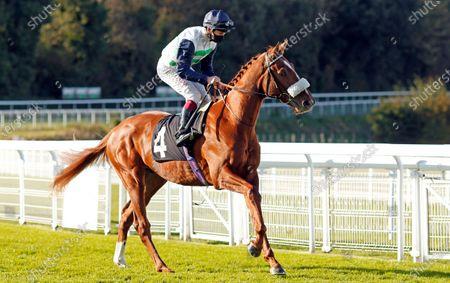 JUAN DE MONTALBAN (Oisin Murphy) winner of The Download The tote Placepot App EBF Novice Stakes Goodwood