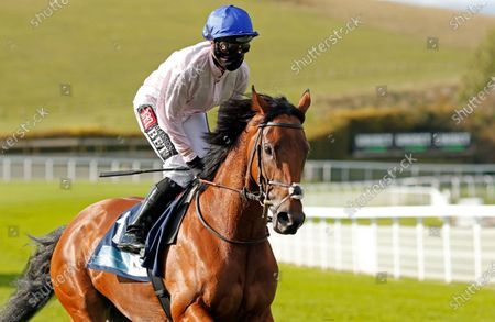 ONASSIS (Hayley Turner) winner of The British EBF October Fillies Stakes Goodwood