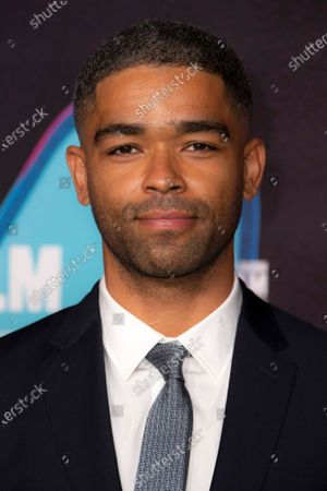 Actor Kingsley Ben-Adir poses for photographers during the photo call for the film 'One Night In Miami', as part of London Film Festival at the BFI Southbank, in central London