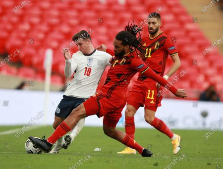 Editorial picture of England vs Belgium, London, United Kingdom - 11 Oct 2020