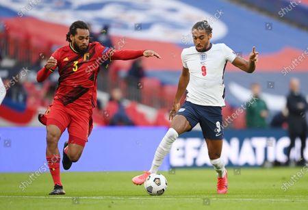 Editorial image of England vs Belgium, London, United Kingdom - 11 Oct 2020
