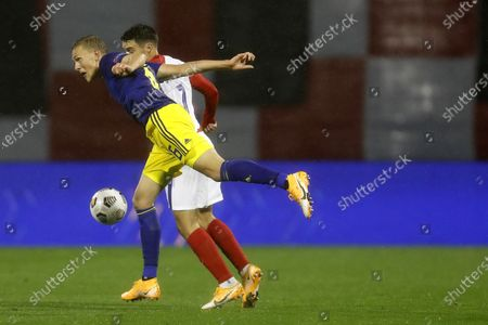 Editorial picture of Sweden Nations League Soccer, Zagreb, Croatia - 11 Oct 2020