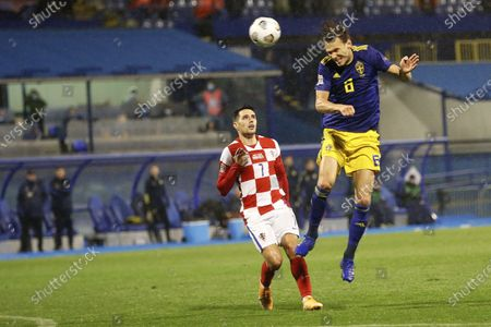 Editorial image of Sweden Nations League Soccer, Zagreb, Croatia - 11 Oct 2020