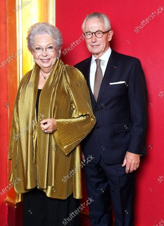 Stock Picture of Prinsessan Christina and Tord Magnuson
