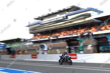 LE MANS CIRCUIT BUGATTI, FRANCE - OCTOBER 11: Valentino Rossi, Yamaha Factory Racing during the French GP at Le Mans Circuit Bugatti on October 11, 2020 in Le Mans Circuit Bugatti, France. (Photo by Gold and Goose / LAT Images)