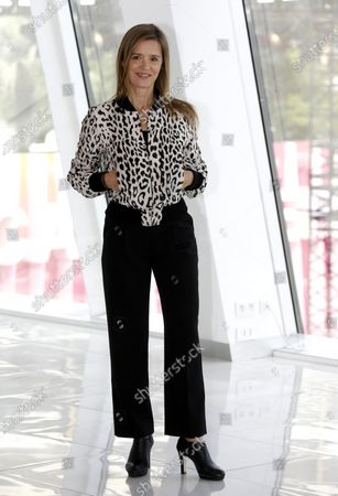 Canneseries jury member, French actress Caroline Proust poses during a photocall at the Cannes Series Festival, in Cannes, France, 11 October 2020. The event runs from 09 to 14 October.