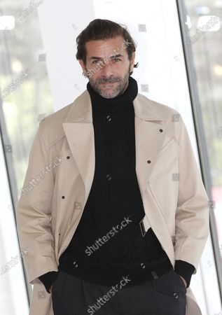 Canneseries jury member, French actor Gregory Fitoussi poses during a photocall at the Cannes Series Festival, in Cannes, France, 11 October 2020. The event runs from 09 to 14 October.