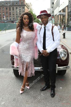 Stock Image of Remy Ma and Papoose