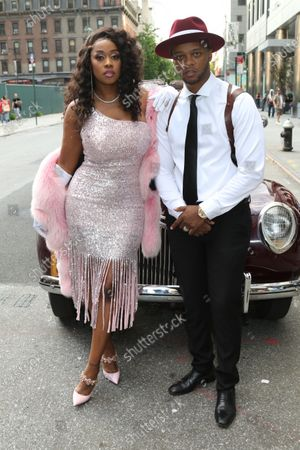 Stock Picture of Remy Ma and Papoose