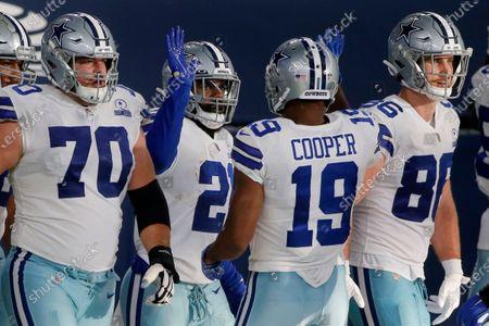 Editorial photo of Giants Cowboys Football, Arlington, United States - 11 Oct 2020