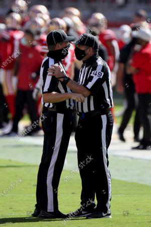 Editorial image of Dolphins 49ers Football, Santa Clara, United States - 11 Oct 2020