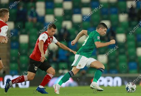 Editorial picture of Northern Ireland vs Austria, Belfast, United Kingdom - 11 Oct 2020