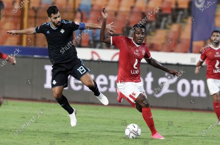Editorial photo of Al-Ahly  vs Pyramids, Cairo, Egypt - 11 Oct 2020