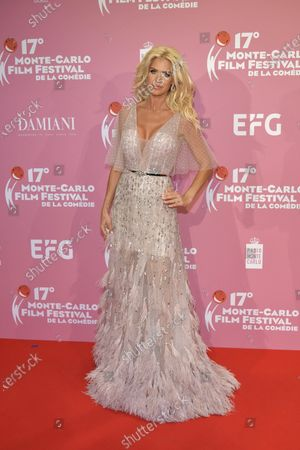 Stock Picture of Victoria Silvstedt