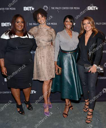 Raven Goodwin, Latarsha Rose, Margaret Avery and Lisa Vidal